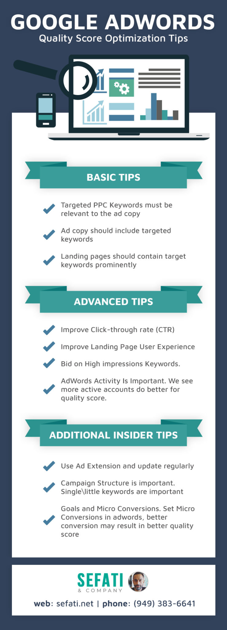 Google AdWords Quality Score Optimization Tips